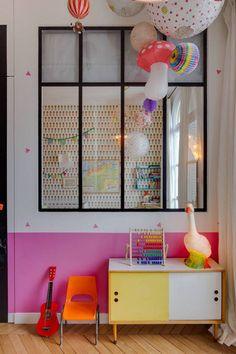 An eclectic house plenty of colous and cute details Kids Bedroom Designs, Kids Room Design, Ideas Vintage, Fashion Room, Kid Spaces, Kids Decor, Girls Bedroom, Room Inspiration, Room Decor
