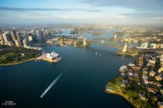 Lina Hayes Photography captured these incredible aerial shots on a scenic helicopter flight over the Eastern Suburbs and Sydney Harbour with Sydney HeliTours .