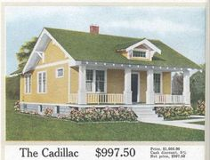 "Aladdin Kit Home, ""The Cadillac,"" 1917"