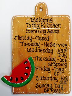 Decorative Wooden Kitchen Signs Amazing Fat Chef Kitchen Operating Hours Kitchen Sign Cucina Bistro Wall Design Decoration