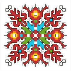 Creative Embroidery, Folk Embroidery, Cross Stitch Embroidery, Embroidery Patterns, Cross Stitch Patterns, Mochila Crochet, Jean Crafts, Embroidery For Beginners, Mandala Pattern