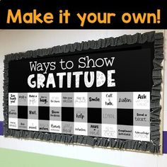 Counseling Bulletin Boards, Holiday Bulletin Boards, Thanksgiving Bulletin Boards, Teacher Bulletin Boards, School Counseling, Inspirational Bulletin Boards, Send Text, Give Thanks, Teacher Newsletter