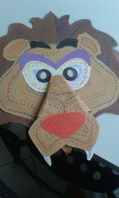 Carnavalsmasker leeuw
