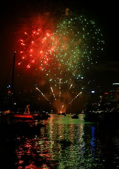 Fireworks - Sydney Harbour, Australia