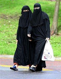 Women--- A vote for Obama could mean you will wear this--- Is this what you want????? Sharia the basis of Islamic law is fundamentally in conflict with the U.S. Constitution, and our way of life.