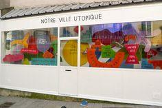 Notre ville utopique par Formes Vives, à la Galeru, Fontenay-sous-Bois.