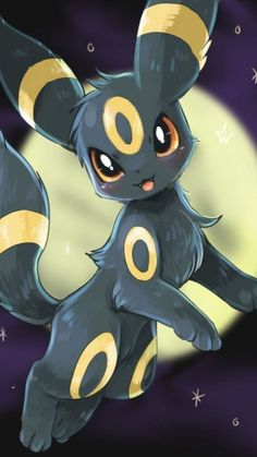this is about umbreon the cutest pokemon Pokemon Tattoo, Pokemon Fan Art, Cool Pokemon, Pokemon Funny, Pokemon Memes, Cute Animal Drawings, Kawaii Drawings, Cute Drawings, Drawings Of Pokemon