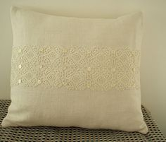 CUSTOM ORDER For  CYNTHIA  Vintage French Linen by Lilylovesroses, $42.00
