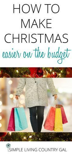 Learn how to save money on holiday shopping and stress by following these simple tips. Shop now, have a list, follow a budget and save! via @SLcountrygal