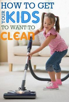 There's just something about cleaning that kids don't enjoy. Try these fun ideas to get your kids involved with cleaning.