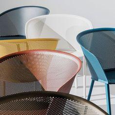 Kettal Stampa design Ronan & Erwan Bouroullec #aluminium #mesh #outdoor…