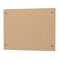 IKEA - SKÅDIS, Ophangbord, Je kan beide kanten van het ophangbord benutten wanneer je het gebruikt als scheidingswand op een bureau of in een vrijstaande ALGOT opbergcombinatie.Kies de accessoires in de SKÅDIS serie die bij je behoeftes passen en stel een eigen opbergcombinatie samen.