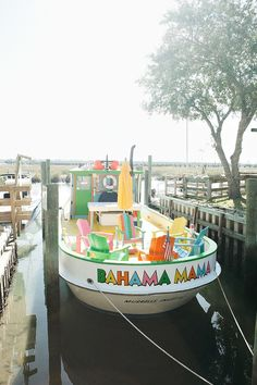 Very cool --- at Murrells Inlet, SC no doubt!Bahama Mamma Boat. Experienced several booze cruises on this boat. Owned by our dear friends........miss you guys.