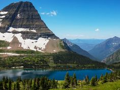 Logan's Pass. Glacier National Park, Montana