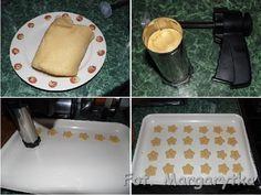 Kulinarne Szaleństwa Margarytki: Ciasteczka z maszynki (wyciskane) Cookies, Ethnic Recipes, Red, Crack Crackers, Biscuits, Cookie Recipes, Cookie, Biscuit
