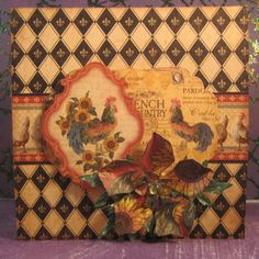 Graphic 45 French Country by shortonideas - Cards and Paper Crafts at Splitcoaststampers