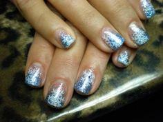 christmas nails 24 Christmas inspired nail art (26 photos)