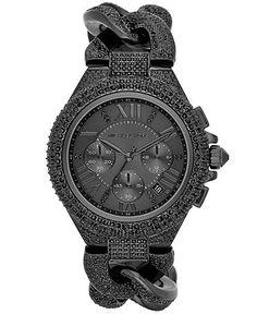 michael kors chronograph watch. hott.