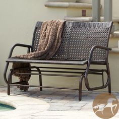 Christopher Knight Home Maui Outdoor Swinging Bench | Overstock.com Shopping - Great Deals on Christopher Knight Home Outdoor Benches