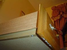 How to Fix Bathroom Cabinet Drawer Slide - http://www.homeadditionplus.com/bathroom-info/How-to-Fix-Bathroom-Cabinet-Drawer-Slide.htm
