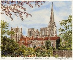 Chichester Cathedral - Portraits of Britain
