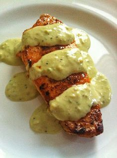 taylor made: pop-in post: spicy pork chops with avocado cream sauce