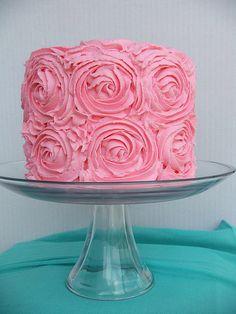 Cake :) simple yet classy