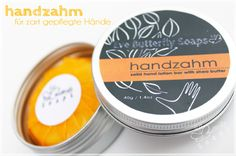 """Handzahm"" - Feste Handcreme (Duft: ""Darling"") | Ansalia.ch"