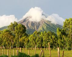 Masaya Volcano... Been here too....They have a national park there you can go all the way to see the crater!