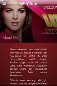 Produk Perawatan Diri, Terbaik di Indonesia  WINWAY mempersembahkan Produk Trend kesehatan untuk saat ini lebih menyangkut kepada perbaikan dan perawatan diri. Untuk itu kami menyediakan produk dengan kualitas tinggi, aman dan efektif yang dapat memenuhi kebutuhan spesifik Anda dan mendukung kesehatan Anda secara keseluruhan. .  More info : 081357336611 BBM: 7D626FA5 atau kunjungi Website : www.klikoke.com