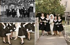 Oh So Darling Vintage 1950 S Wedding 50s Themes Ideas