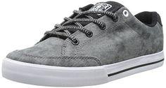 C1RCA AL50 Slim Skate Shoe MidnightWhite 7 M US -- For more information, visit image link.