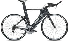 Shiv was designed by triathletes, for triathletes - no ounce of roadie on this bike since it ignored UCI rules. Key features include aerodynamics, integrated hydration system, and comfort.