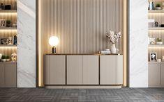 Contemporary Interior Design, Office Interior Design, Lobby Interior, Interior Architecture, U Shaped Office Desk, Luxury Furniture, Furniture Design, Neoclassical Interior, Commercial Interior Design