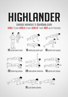 Highlander Workout