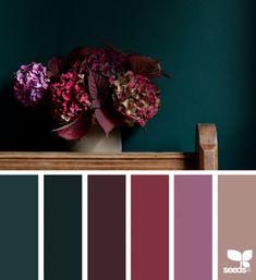 61 New Ideas apartment color schemes design seeds Apartment Color Schemes, Bedroom Color Schemes, Bedroom Colors, Colour Schemes, Color Combos, Interior Design Color Schemes, Colors For Bedrooms, Jewel Tone Bedroom, Teal Bedroom Decor