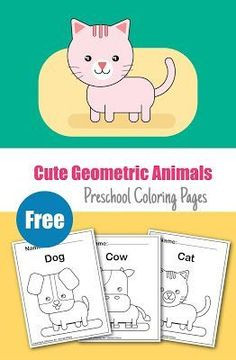 Teaching with coloring pages is a perfect choice for kids. These free animal coloring pages designed very simply by combining basic geometric shapes and form the simple animal shape. Train Coloring Pages, Frozen Coloring Pages, Fish Coloring Page, Online Coloring Pages, Coloring Pages For Kids, Free Coloring, Abstract Coloring Pages, Alphabet Coloring Pages, Animal Coloring Pages