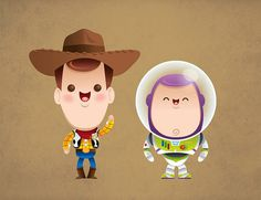 This Toy Story vector is just cute as heck.