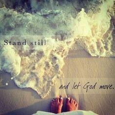let God move