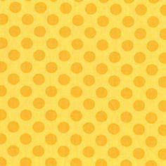 Michael Miller House Designer - Dots - Ta Dot in Sunny