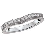The a universally accepted standard to diamond grading. Learn about the cut, color, clarity, carat weight. Curved Wedding Band, Wedding Bands, Diamond Bands, Unique Rings, Diamond Engagement Rings, Jewelry, Jewellery Making, Jewerly, Jewelery