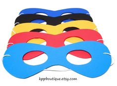 Foam Masks for children's mask work in the Itty Bitty Actor FUNdamentals Class. Batman Party, Superhero Birthday Party, Boy Birthday Parties, Birthday Ideas, Themed Parties, 5th Birthday, Happy Birthday, Spider Man Party, Crocodile Party