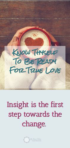 When it comes to relationships, it's essential to get to know thyself before you embark on the quest for a partner.  Understanding your family upbringing and past relationship patterns is essential if you want to have good future relationships. #love #relationships