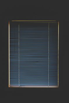 Utility and design as art. Phillipe Parreno did something similar in an exhibition is Berlin at the Gropius Bau in 2018 - the blinds were automated and would lift or close depending on your positioning as a viewer within a room. Wallpaper Minimalista, Gropius Bau, Light And Shadow, Art Photography, Stunning Photography, Photos, Pictures, Windows, In This Moment