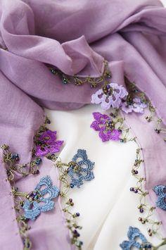 トゥーオヤの花花ストール