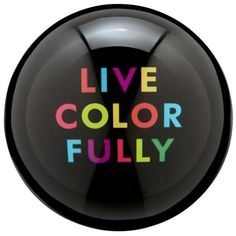 Kate Spade New York Multi Say The Word Paper Weight Live Colorfully (105 BRL) ❤ liked on Polyvore featuring home, home decor, office accessories, multi and kate spade