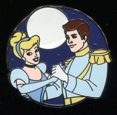 Disney Couples Mystery Pack Prince Charming and Cinderella Disney Pin 95858