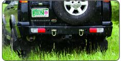 Terrafirma Discovery II Heavy Duty Rear Bumper
