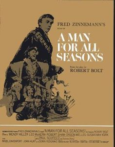 a man for all seasons souvenir program book