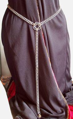 Chain Celtic Knot Accent Belt by hwkwlf.deviantart.com on @deviantART